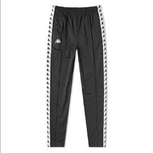 Kappa Black Track Pants